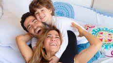 La foto familiar de Jimena Barón junto a Morrison y su novio