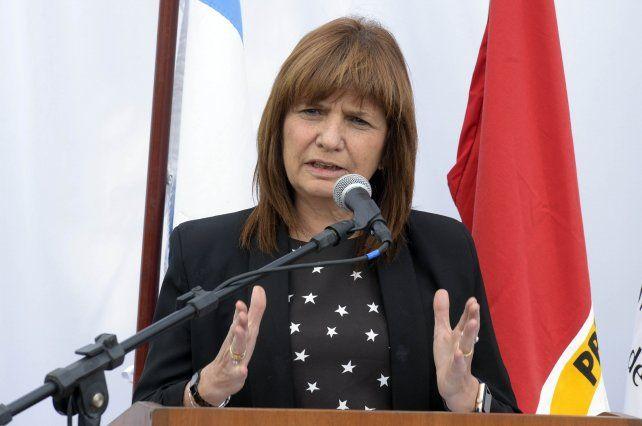 Bullrich dijo que lo primero que hizo Cristina fue insultar a Macri