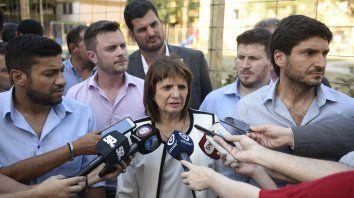 Bullrich: En Rosario hay una lucha contra el crimen organizado