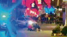 Shock. El extremista disparó un arma automática y huyó.