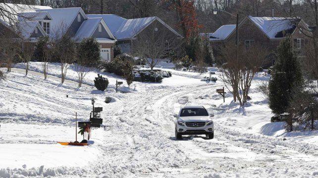 Intensas nevadas en EE.UU y Europa