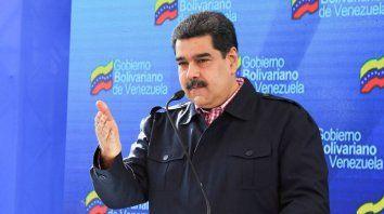 Maduro repetidamente acusa a Washington de orquestar un complot.