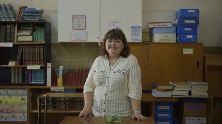 Felicidad. El logro de la profesora rosarina fue sobre un total de 10  mil postulantes de 179 países