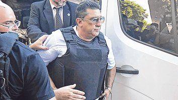 cambio de rol. Luis Paz cuando declaró en el juicio a Los Monos como testigo protegido. Ahora el acusado es él.