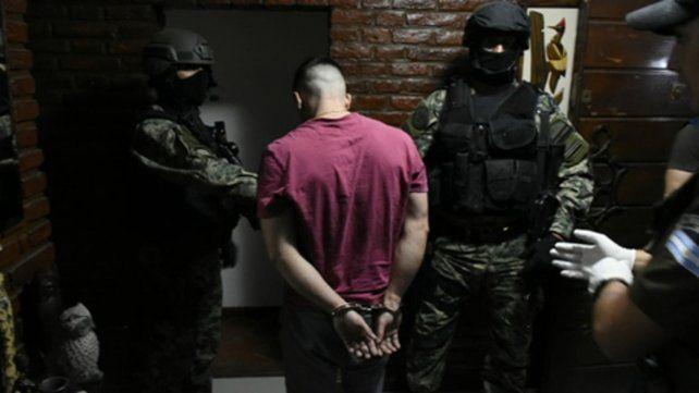 operativos. Gendarmería detuvo a 38 sospechosos de integrar la red.