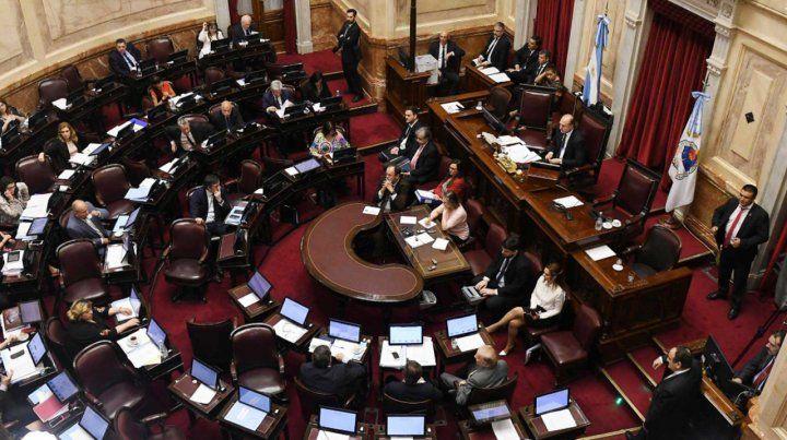 El Senado aprobó el financiamiento de los partidos políticos