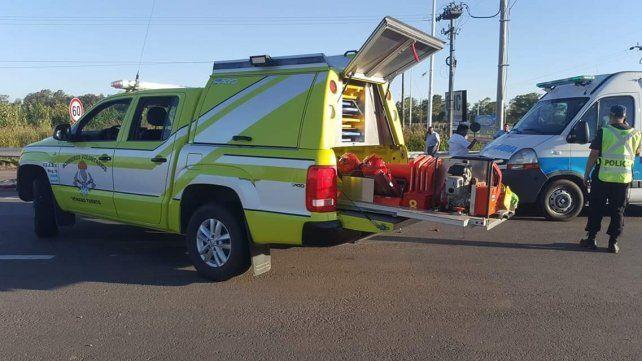Una joven ciclista murió al ser atropellada por un camión en Venado Tuerto