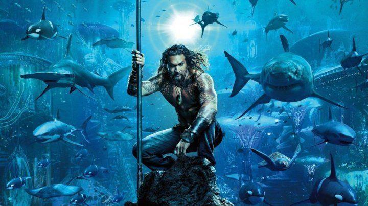 Atlante y humano. Arthur Curry es también Aquaman