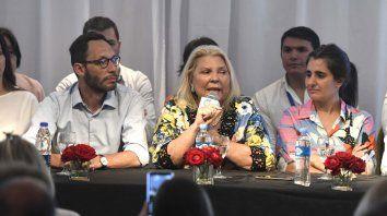 Lilita. Carrió, socia fundadora de Cambiemos, marcó diferencias con algunas políticas de Macri.