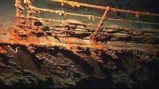 Ícono. La famosa baranda de la proa del trasatlántico, la parte mejor conservada del buque.