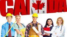 Promoción. Un afiche oficial de Canadá para reclutar trabajadores de todas las profesiones en el exterior.