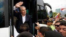 Destitución. Luis Almagro sugirió una posible intervención de Venezuela.