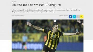 En Uruguay aseguran que Maxi se queda