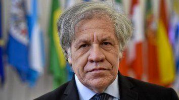 Almagro cometió un error al afirmar que no debía descartarse ninguna opción en Venezuela durante una visita a Cúcuta.