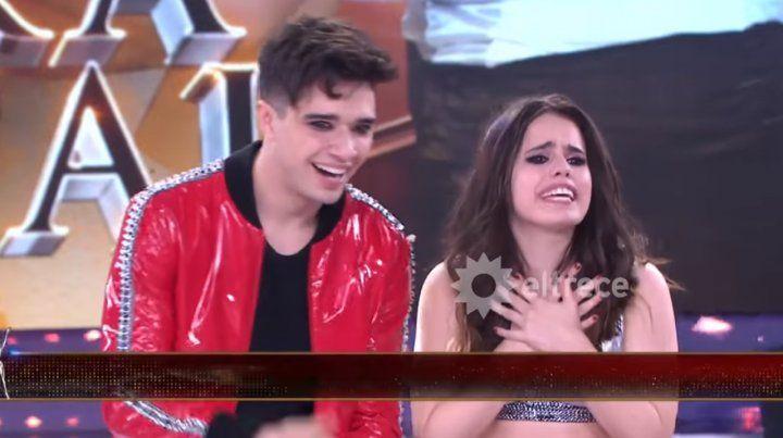 Sofi Morandi y Julián Serrano, la primera pareja finalista del Bailando