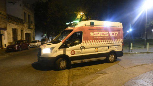 Personal del Sies actuó en los lugares donde se registraron denuncias por casos de hipotermia.