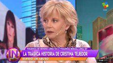 cristina tejedor conto por que se fue de actrices argentinas