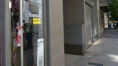 El frente del edificio donde trabaja el abogado Piercechi.