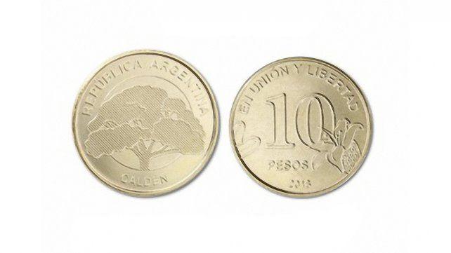El Banco Central emite monedas de diez pesos y nuevos billetes de cien