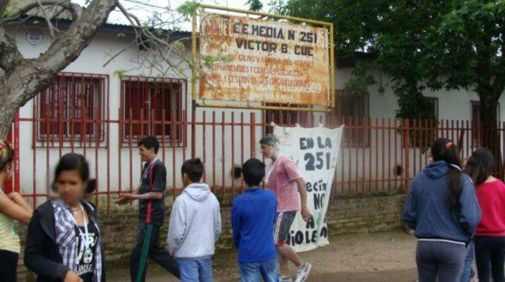 Convocan a un abrazo solidario a secundarias de Empalme Graneros