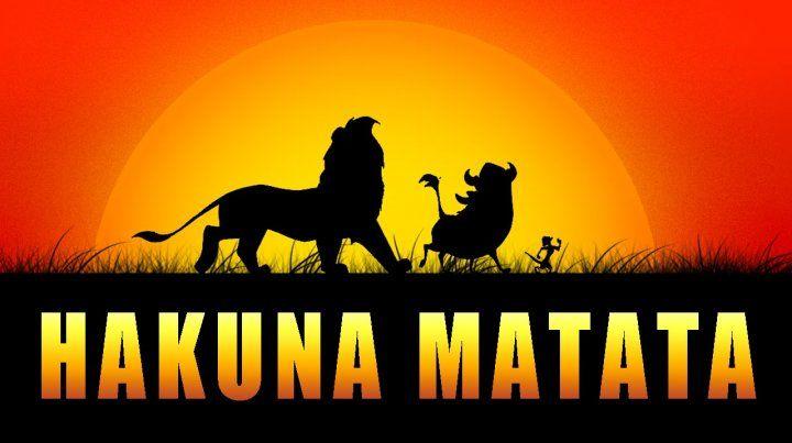 Activista africano planea demandar a Disney por registrar la frase hakuna matata
