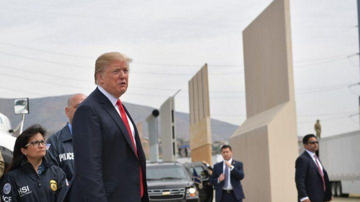 Trump quiere su muro.