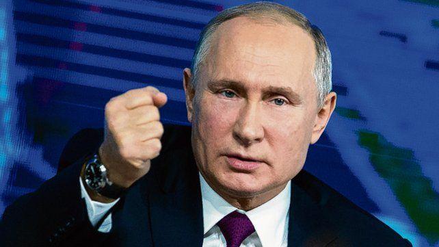 Balance. Putin alertó sobre la carrera armamentística estadounidense.
