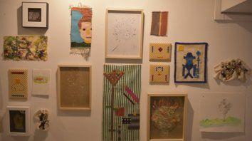 Entre lo textil y la Imagen. Michele Siquot trabaja sobre un proyecto amplio que está en permanente construcción.