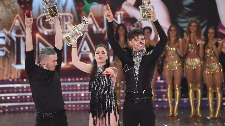 Sofi Morandi y Julián Serrano son los campeones del Bailando