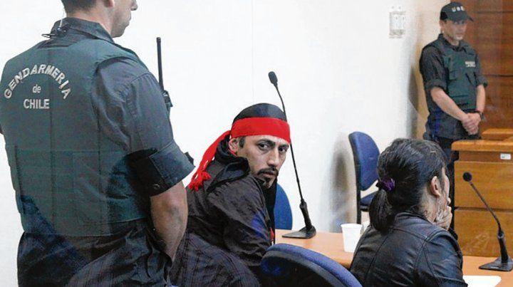 En Valdivia. Jones Huala se declaró preso político mapuche.