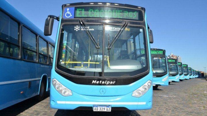 flamantes. La empresa mendocina desembarca en Rosario para ser parte del nuevo sistema de transporte.