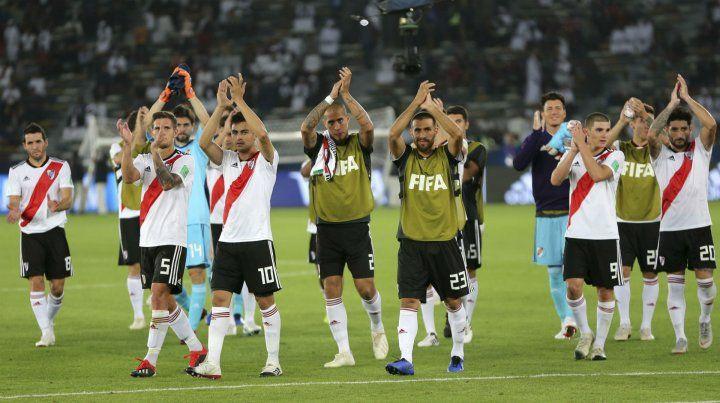 River se despidió con una goleada del Mundial de Clubes.
