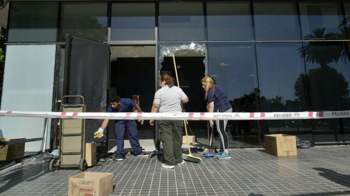 El ataque ocurrió al CJP ocurrió la madrugada del 10 diciembre pasado.