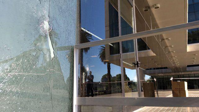 El ataque al CJP se produjo la madrugada del 10 de diciembre pasado.