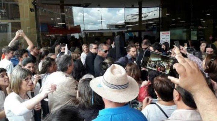 Braulio, el ganador de La Voz Argentina, se reencontró con su gente en Uruguay