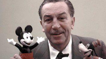 Foco. Walt Disney, el emprendedor, logró formar una gran empresa.