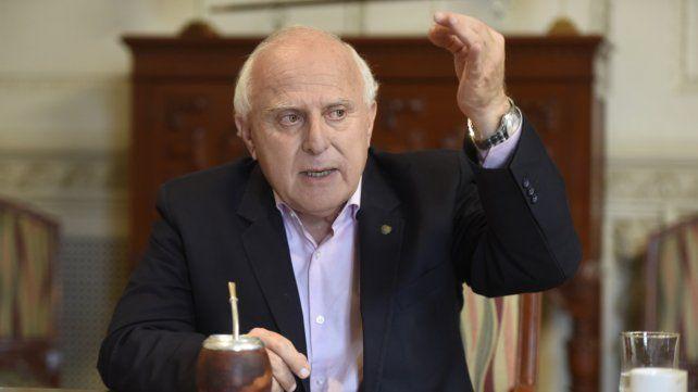 El gobernador santafesino Miguel Lifschitz.
