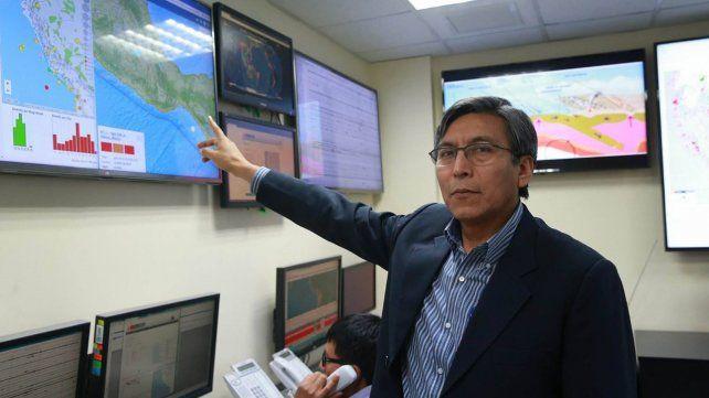 El director del área de sismología del Instituto Geofísico de Perú (IGP)