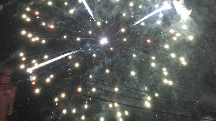 Euforia canalla y fuegos artificiales en la fiesta por los 129 años