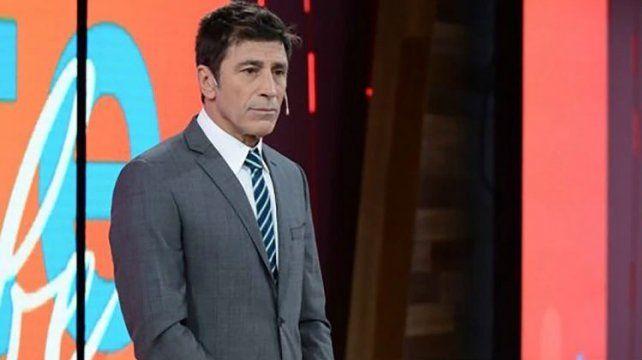 El animador Nicolás Repetto se despidió hoy del noticiero de Telefé.