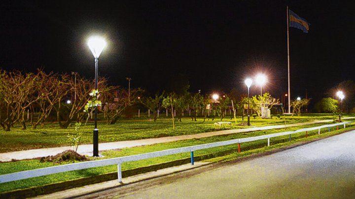 350 luces. La tecnología LED ofrece ventajas económicas y ambientales.