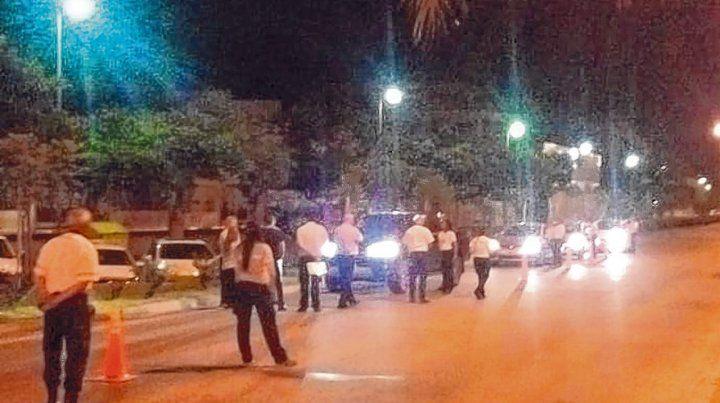 Controles. Unos 200 agentes realizaron operativos de tránsito en diferentes puntos de la ciudad.