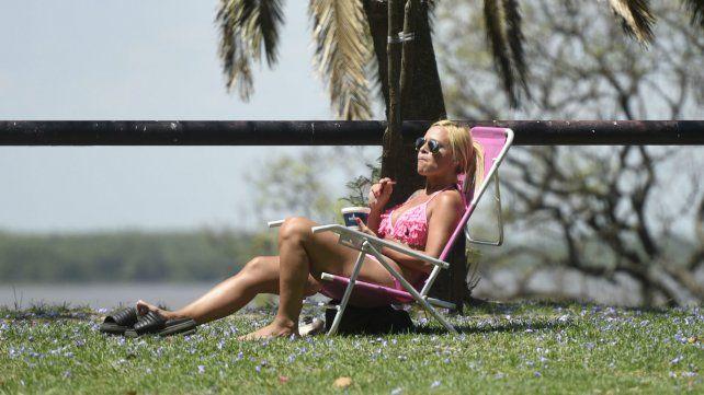 Miércoles caluroso y húmedo, que anticipa varios días con mal tiempo en la región