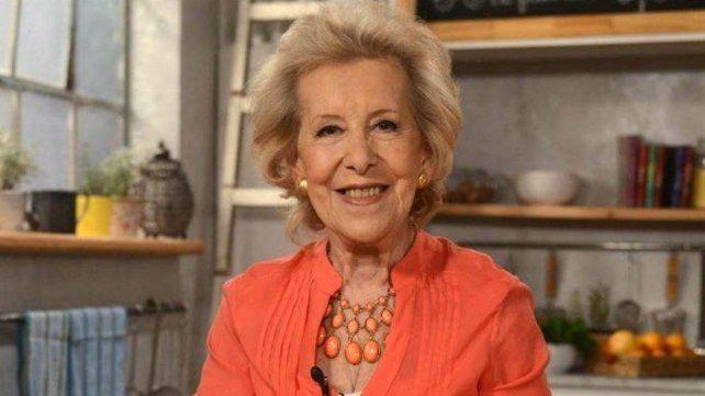 Murió Choly Berreteaga, pionera de las cocineras de la televisión