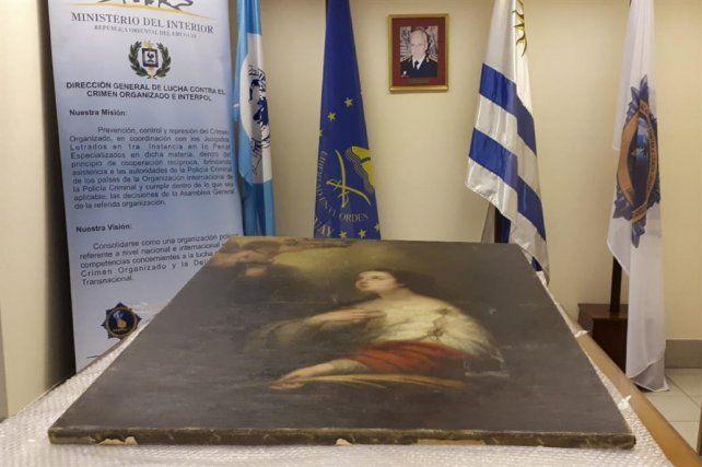 La obra de Murillo que fue robada del Museo Estévez llega mañana a Rosario