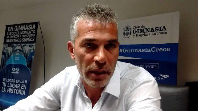 Gabriel Pellegrini, presidente de Gimnasia, reconoció el interés de Central y dijo que la oferta es