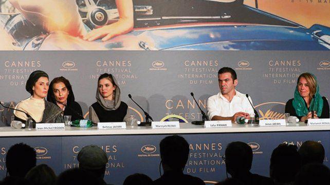 Cannes. El lugar del cineasta quedó vacío en el último festival de cine.