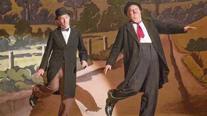 Un clásico. Coogan (el Flaco) y Reilly (el Gordo) esperan que las nuevas generaciones descubran el humor del dúo.