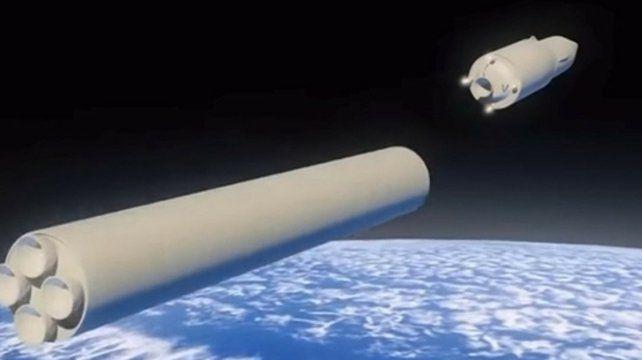 Arsenal nuclear. Imagen ilustrativa del misil Avantgard