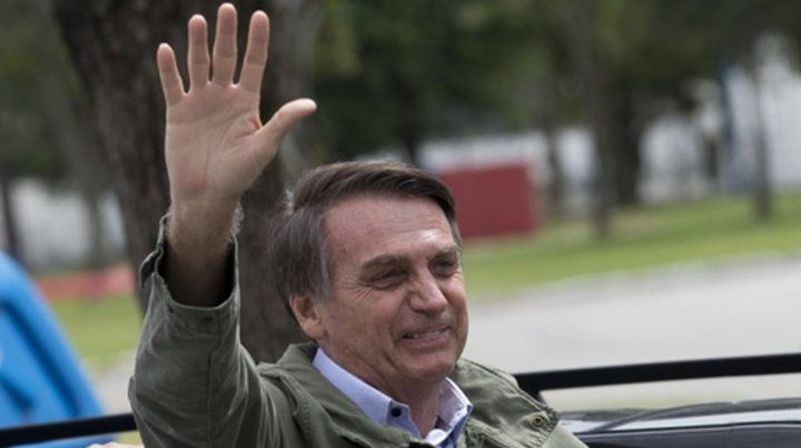 Al poder. Bolsonaro asumirá el 1º de enero la presidencia de Brasil.